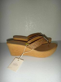 A.GIANETTI Women's Wedges Thongs Platform Sandals MADE in IT
