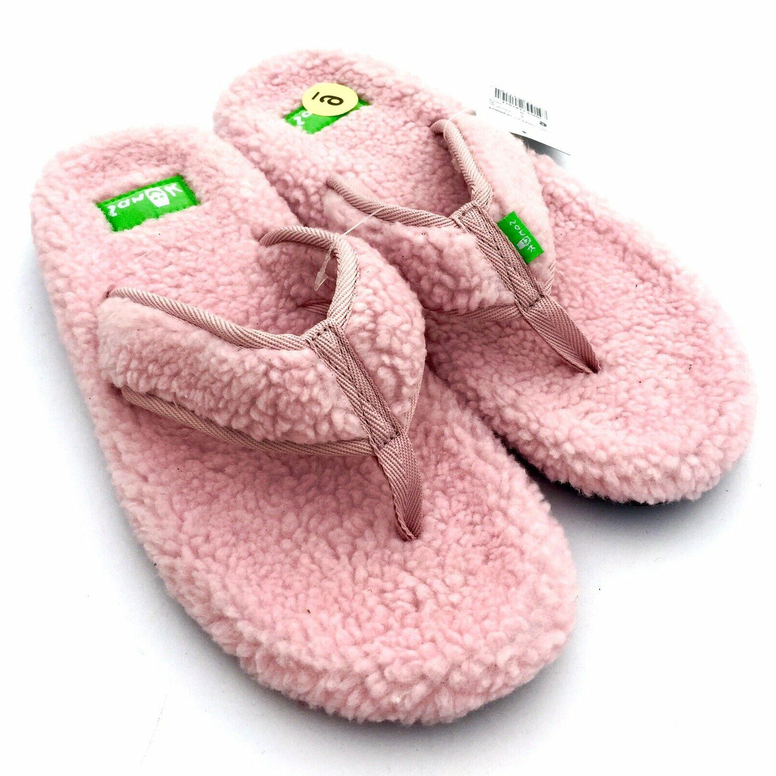 flip flops slippers pink furreal classic chill