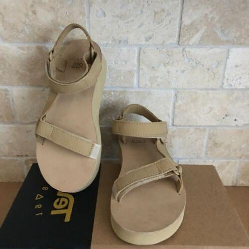 TEVA ORIGINAL UNIVERSAL LEATHER SAND