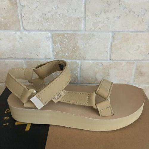 TEVA ORIGINAL LEATHER SANDALS SIZE