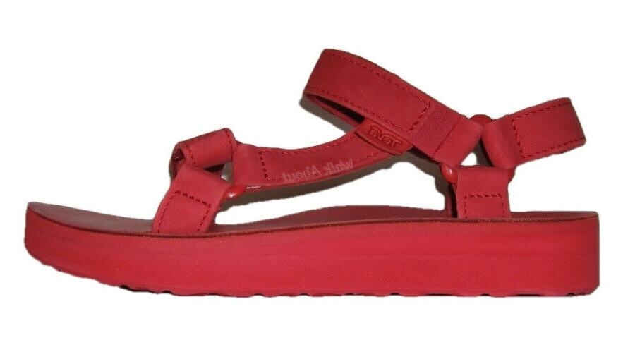 NEW UNIVERSAL LEATHER SANDALS WOMENS 10
