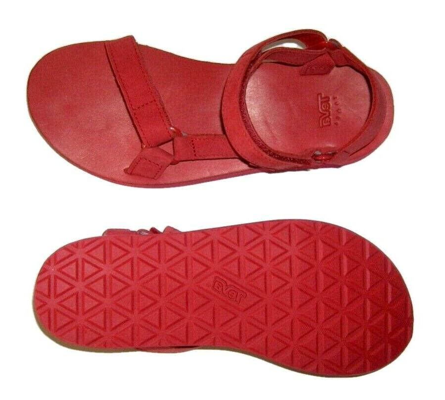 UNIVERSAL RED LEATHER SANDALS SHOES