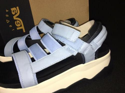 Teva Zamora Blue White black Women's Shoes sizes