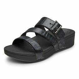 Vionic Pacific Rio - Women's Adjustable Platform Sandal Blac
