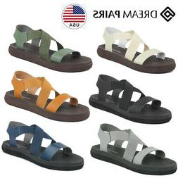 DREAM PAIRS Women's Greek Platform Wedge Flat Sandals Summer