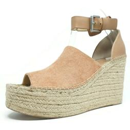 Marc Fisher Womens Adalyn Sandals Size 11 Espadrille Wedge P