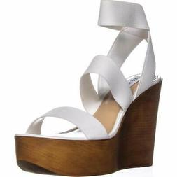 Steve Madden Womens Blondy Open Toe Casual Platform Sandals,