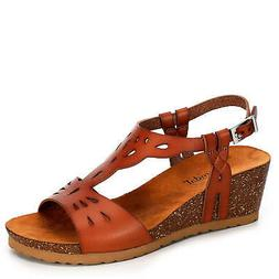 Bjorndal Womens Luna Wedge Sandal Shoes