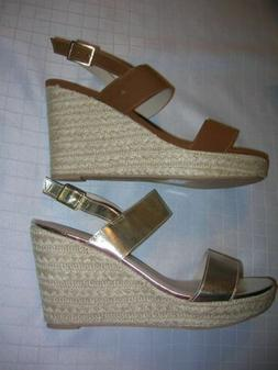 Womens Shoes   Wedge Platform Strappy Espadrille Comfort